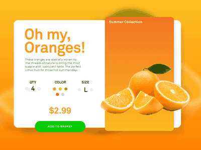 Checkout product ecommerce orange checkout challenge ui