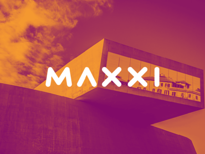 MAXXI Museum sans gradient colors rebrand brand hadid zaha art modern museum maxxi