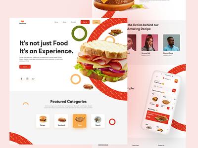Tastylicious designer website ui ux minimal creativity designers design
