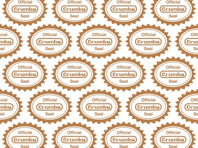 Crumby Seal of Quality branding vector starburst inspiration vector logo official seal official crumby badge mario brothers seal seal of quality mario nintendo