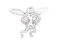 Fly guy for dribbble sketch 04