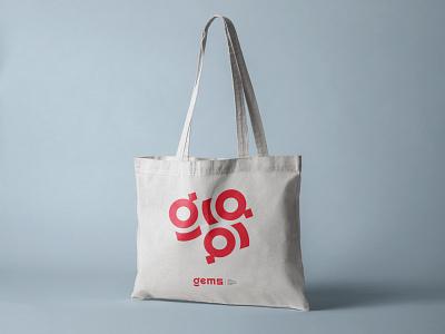 GEMS logo congress science vector minimal bulgaria logo identity typography design branding