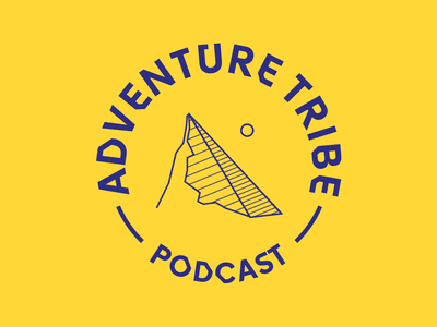 Adventure tribe logo proposal adventure mountain vector logo bulgaria identity design branding