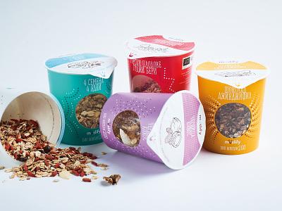 Muslify muesli package packaging design branding