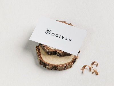 Ogivas logo wood artisan woodworker logo identity branding design