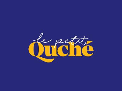 Le Petit Quche sofia bulgaria logo type typography minimal lettering identity design branding