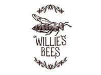 Willie's Bees Logo