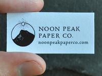 Noon Peak Paper Co. Logo