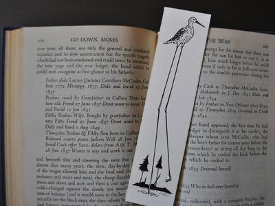 Yellowlegs Bookmark