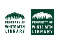 Book Stamp / Ex Libris /  Library Logo