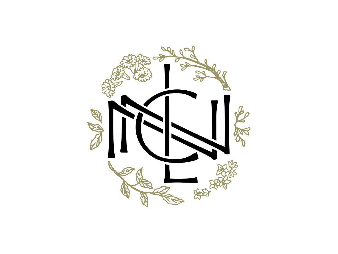 Nl Nc Monogram By David Sankey On Dribbble