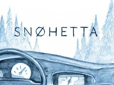 Snøhetta Comic — first frame snøhetta norway scandinavia hand-drawn pencil adventure outdoors drawing comics graphic novel illustration comic