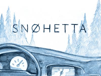 Snøhetta Comic — first frame