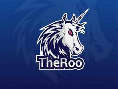 TheRoo Mascot Logo