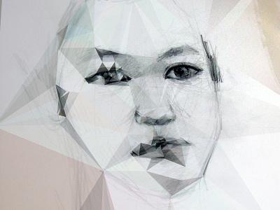 portrait portrait sketch dmesh
