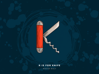 K is for Knife