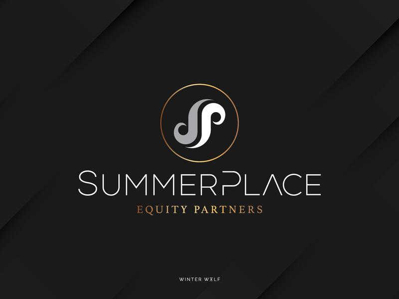 SummerPlace Logo Design logo designer vector graphic design typography reflection financial logo monogram logo monogram sp logo winter wolf creative symmetrical symmetry minimalist simplicity logodesign logos p logo s logo logo logo design