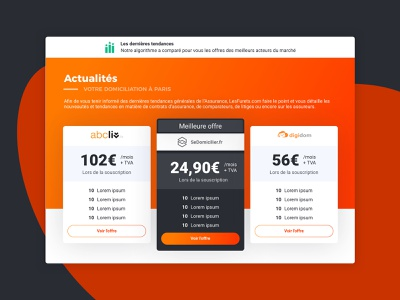 Se Domicilier website identité visuelle charte graphique website web ux-ui ui ux design app