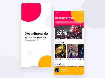 Dosanjhanwala Audio player app