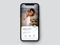 Daily UI #006: Social Media App