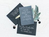 Winter Invitation Design