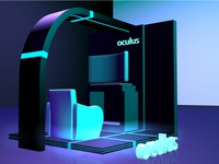 3D Stand for Oculus