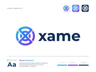 Xame Logo Design logo mark app business analysis marketing agency network logo logodesign modern logos letter x logo x logo letter logo branding design logo design app design brand identity modern logo logo app logo abstract logo branding