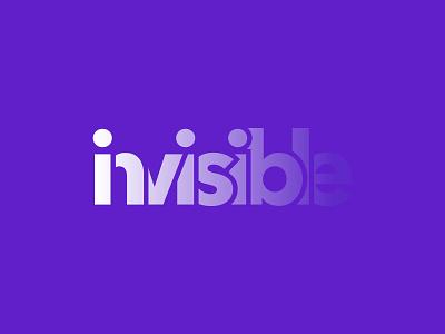 Invisible Logo Design invisible letter mark logo word mark logo logo design logo mark logo designer analysis business app technology software letter logo brand identity modern logo branding app logo design agency consulting
