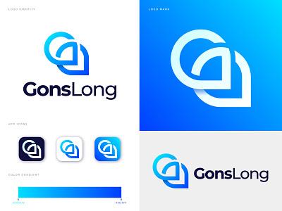 GonsLong Logo Design Inspiration app logo point trill travel social network design app modern logo brand identity branding logo graphic design software app icon technology pin symbol location map