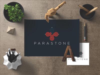 PARASTONE typography illustrator illustration identity branding brand