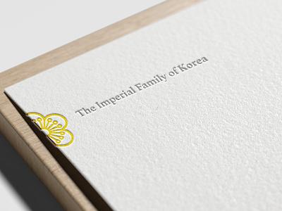 The Imperial Family of Korea - Branding webflow design clean typography logo illustrator illustration identity branding brand