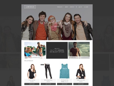 LUMINOUS ECOMMERCE THEME