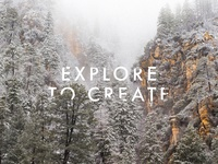 Explore to Create