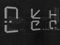 Niketo logo treatment