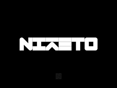 Nikéto logo treatment