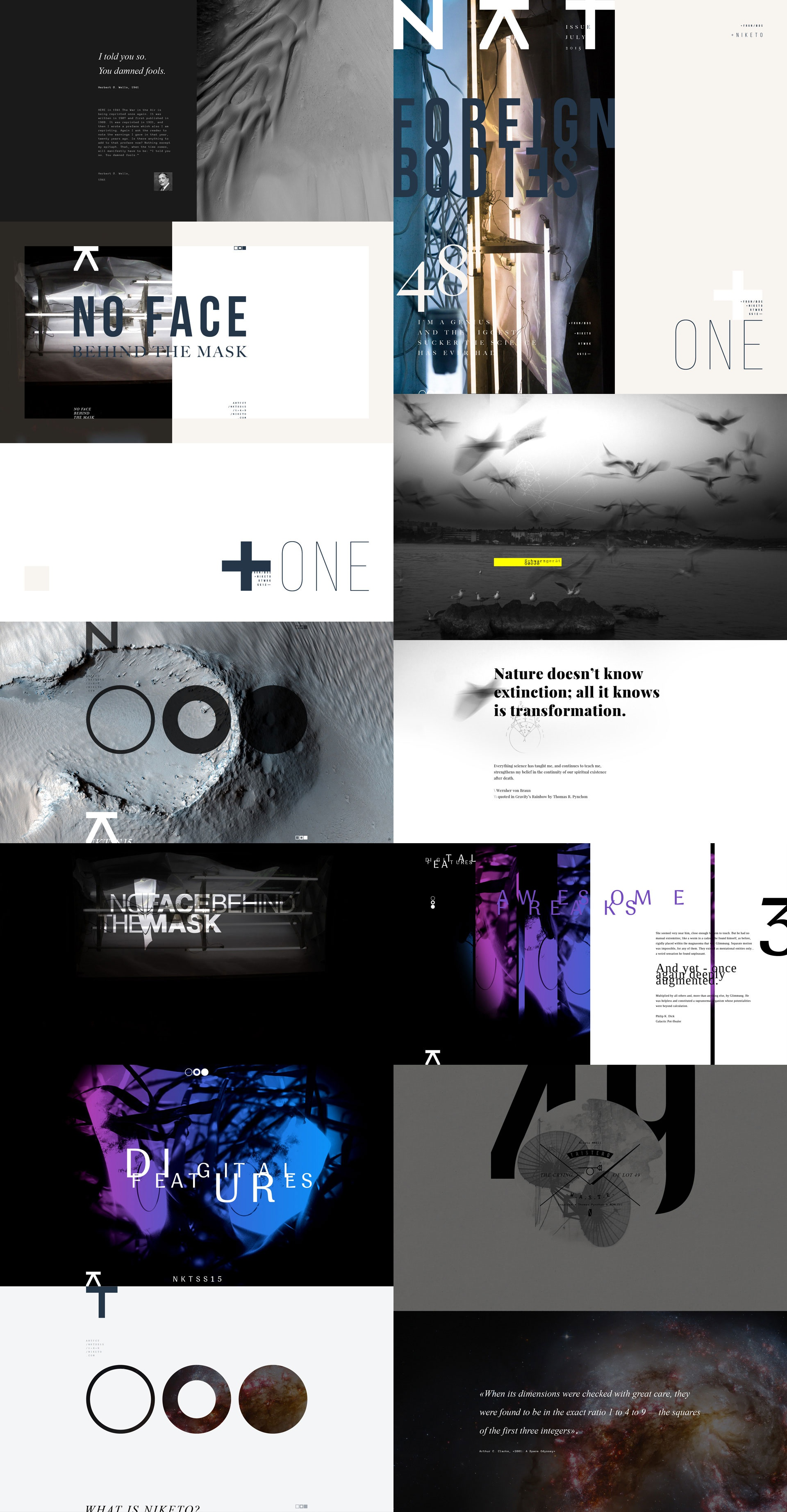 Niketo portfolio patterns