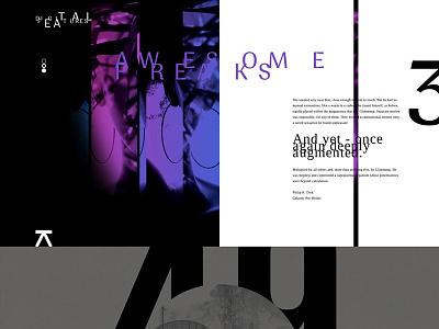 Awesome Freaks. Digital poster. niketo saint-petersburg санкт-петербург moscow typography black white