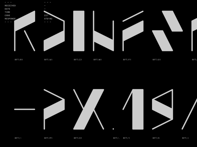 Rainforest type design typeface type abstract grid modular font typography spb msk russia niketo saint-petersburg moscow