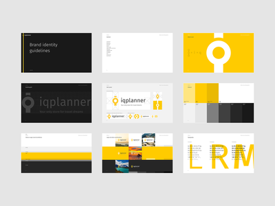 IQPlanner brand guidelines