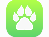 Logo for pet care app