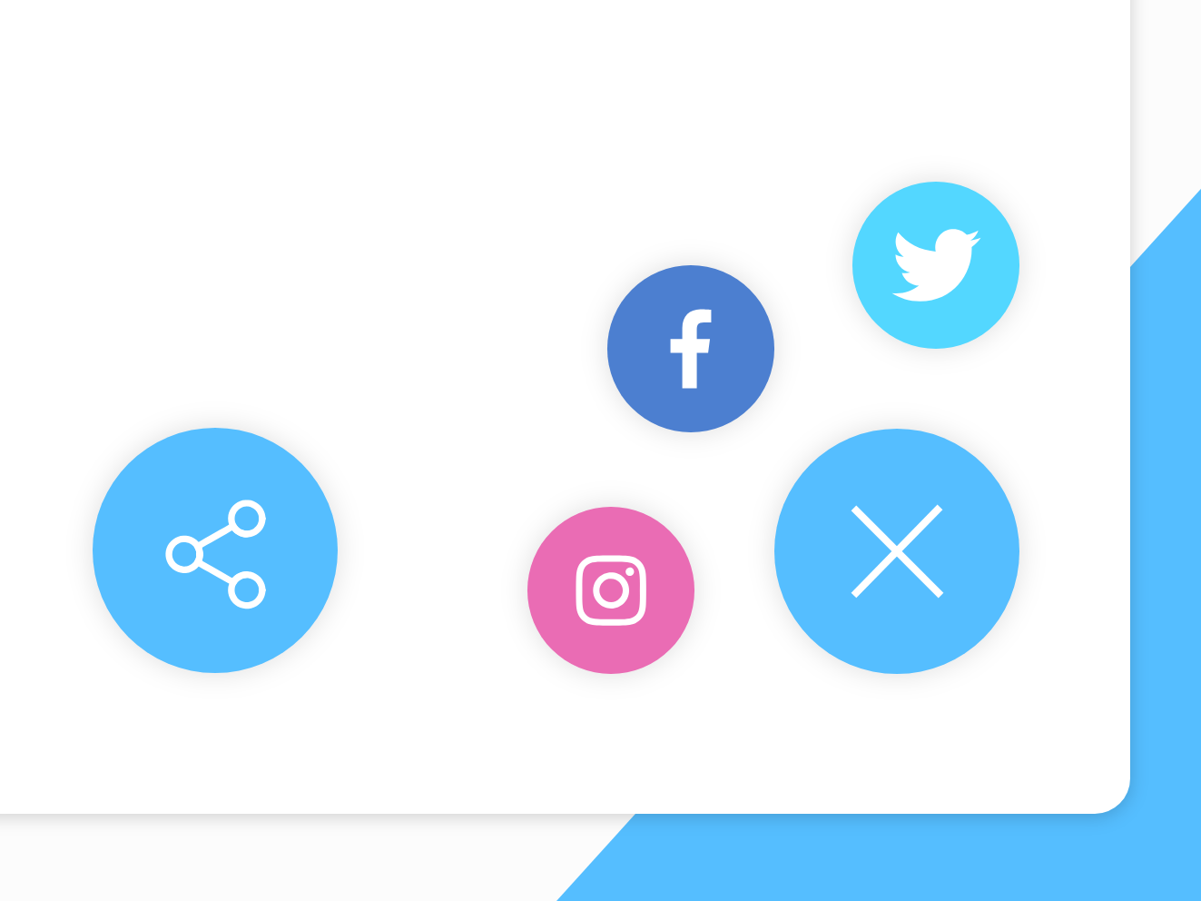Share button interaction design social media share button dailyui 010 dailyui