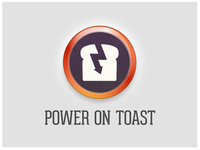 Power On Toast