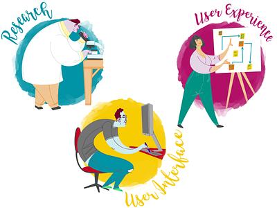 UX UI Editorial Illustration vector illustration editorial illustration editorial art