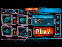 AAA Futuristic UI Kit