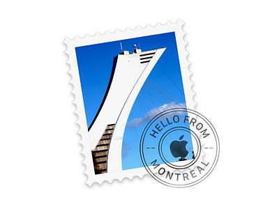 Yosemite Mail Icon - Montreal icon mail yosemite montreal stamp