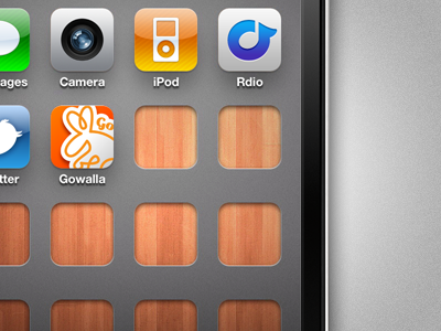 Holes & Wood iphone wallpaper wood holes