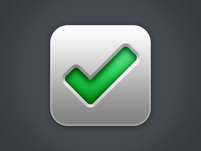 Track - Icon icon iphone checkmark todo app