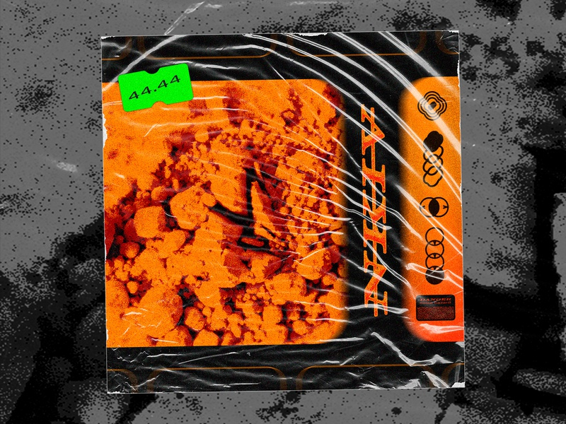 NKIIII cover art 🔸🔸🔸🔸 album artwork album cover album art album design art cover acid package future orange print covers design dribbble cover design cover art illustration cover artwork texture concept