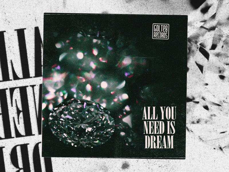 Cover art for Lokajitis - All You Need Is Dream💎💎💎💎 cd artwork cd design cd cover cd textures spotify cover applemusic spotify souncloud diamond cover design logo album cover covers cover design illustration cover artwork cover art texture