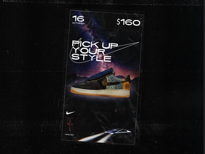 Concept ad for Air Force 1 Low Travis Scott Cactus Jack 🌵🌵🌵🌵